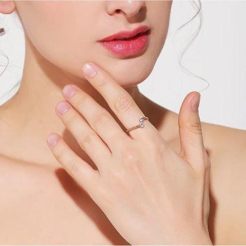 outlet outlet for sale attractive price bague rose cristaux swarovski pas cher ou d'occasion sur Rakuten