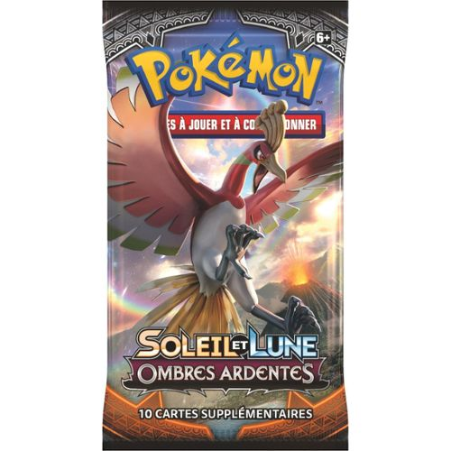 Soleil et Lune Ombres ardentes Booster Pokémon