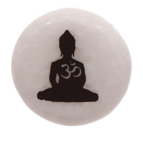 Le coin cadeaux Figurine Bouddha Thai Effet Or T/ête sur Genou