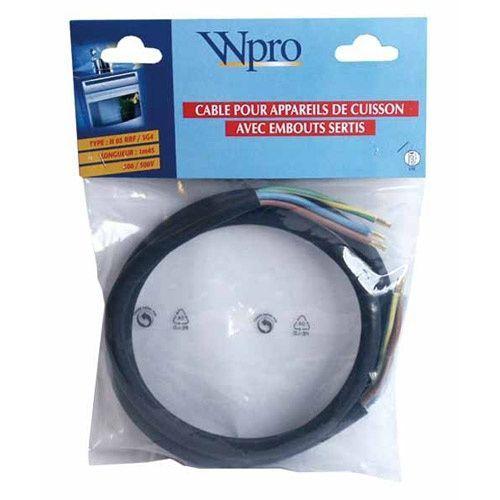 3x Câbles caoutchouc H05 RN-F4//3 203935 Festool plug it