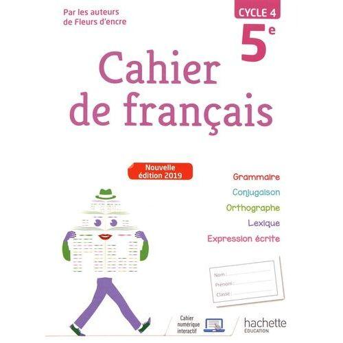 Cahier De Francais 5eme Hachette Pas Cher Ou D Occasion Sur