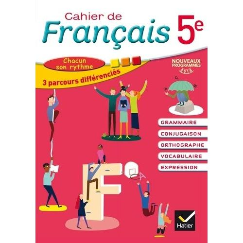 Cahier De Francais 5eme Hatier Pas Cher Ou D Occasion Sur