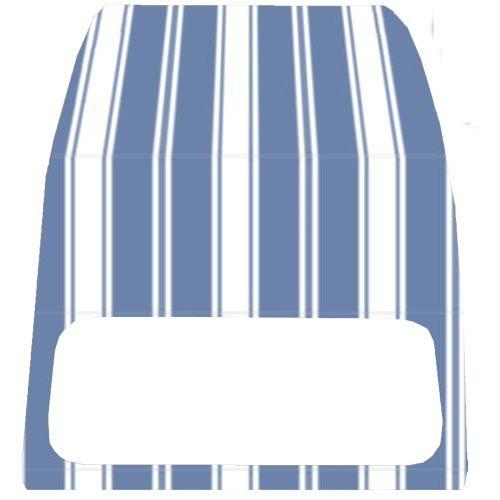 Accessoires auto Auto et Moto neuve avec ouverture extérieure TOPCAR Capote 2CV bleue myosotis