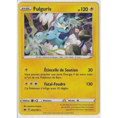 FULGURIS EX HOLO 170PV PROMO BW81 CARTE POKEMON