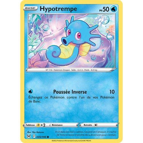 Carte Pokemon HYPOTREMPE 29//147 REVERSE Soleil et Lune 3 SL3 Française NEUF
