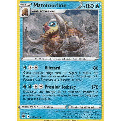 Carte Pokemon MAMMOCHON 21//111 Rare REVERSE Soleil et Lune 4 SL4 FR NEUF