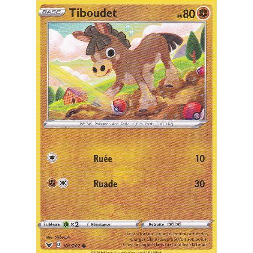Carte Pokemon TIBOUDET 77//147 REVERSE Soleil et Lune 3 SL3 Française NEUF