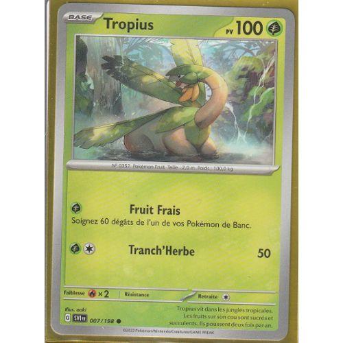 Niv.35-80PV 52//111 Pokemon Platine Rivaux Emergeants Tropius
