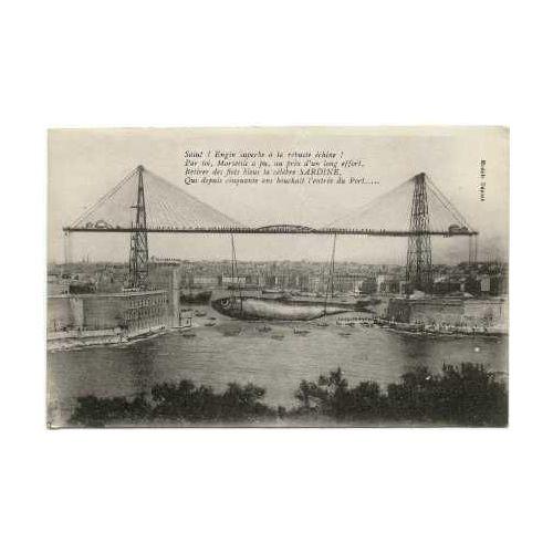 Achat carte postale pont transbordeur pas cher ou d'occasion | Rakuten