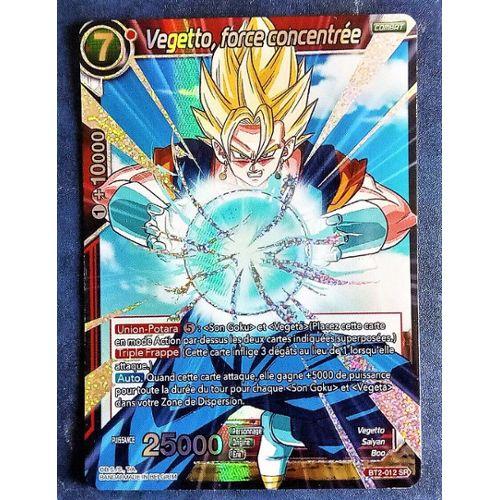 le sauveur EX01-04 EX VF Dragon Ball Super Vegetto SSB