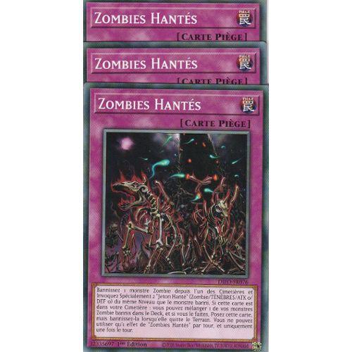 Yu-Gi-Oh VF//Commune le lots de 2 Dragon Zombie aux Yeux Rouges  SR07-FR005