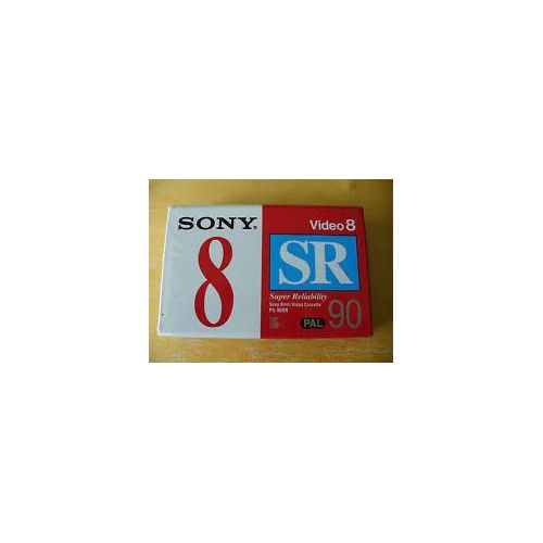 neuf video 8 CASSETTE K7 CAMESCOPE 8MM SONY MP 90 MINUTES