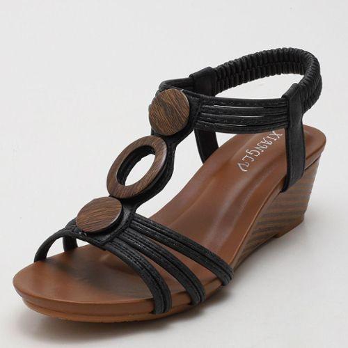 meilleur authentique 0b3e8 d2a51 chaussure compensee 35 pas cher ou d'occasion sur Rakuten