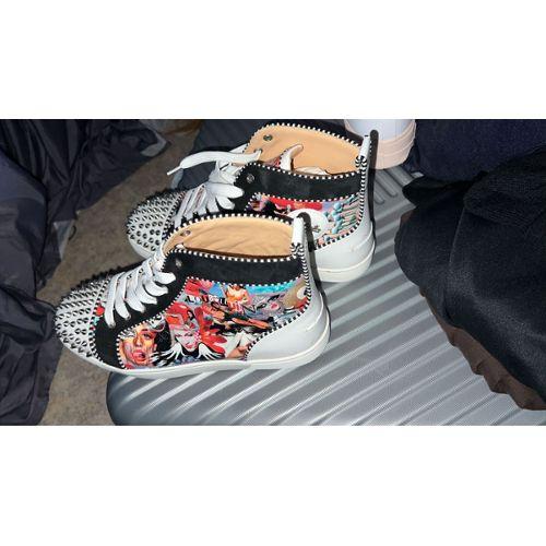 chaussures de sport 54c54 592a1 chaussure louboutin homme pas cher ou d'occasion sur Rakuten