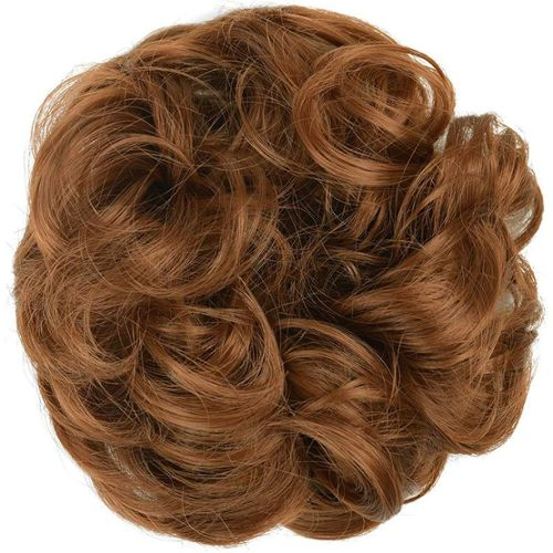 Lot De 4 Bun Donut Amplificateur De Chignon pour cheveux Blond