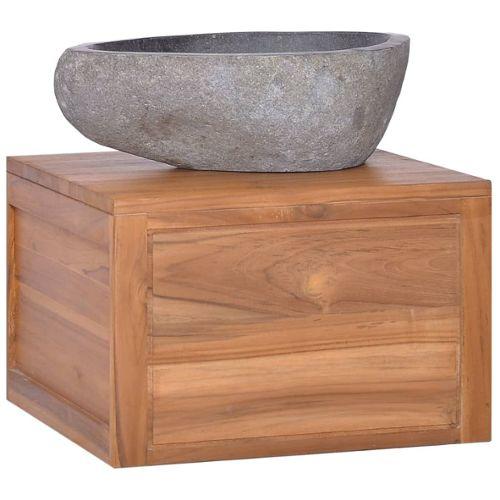 Colonne salle de bain teck pas cher ou d\'occasion sur Rakuten