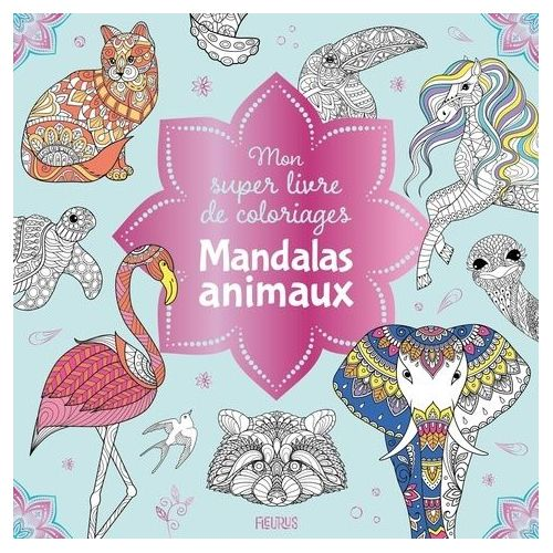 Achat Coloriage Mandala Animal Pas Cher Ou D Occasion Rakuten