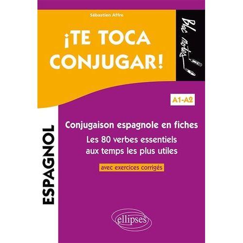 Achat Conjugaison Verbe Espagnol Pas Cher Ou D Occasion Rakuten