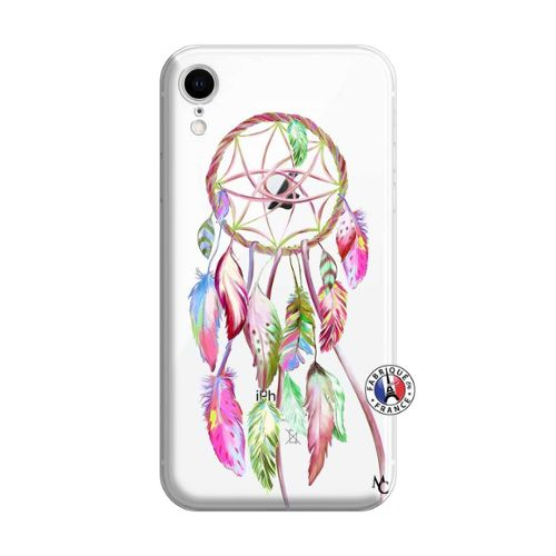 coque rose pale iphone xr