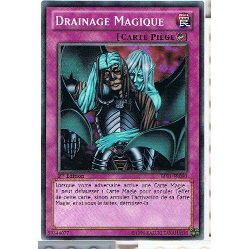 Drainage Magique Magic Drain Titre Bleu Yu Gi Oh DL13-FR020