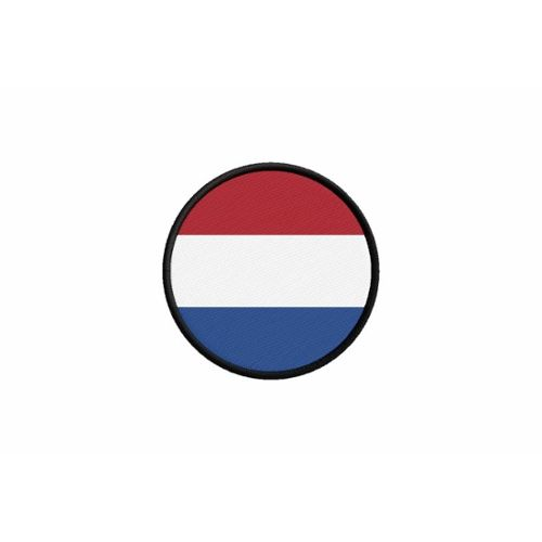 Patch ecusson brode imprime voyage souvenir backpack drapeau pays bas hollandais