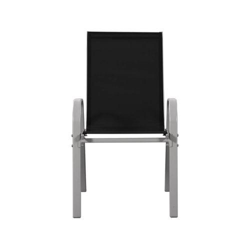 fauteuil jardin acier noir pas cher ou d\'occasion sur Rakuten
