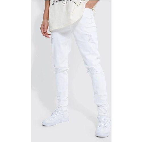 d658fd77e jeans homme blanc dechire pas cher ou d'occasion sur Rakuten