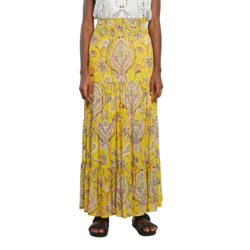 30ded5e9033d3e jupe longue jaune pas cher ou d'occasion sur Rakuten