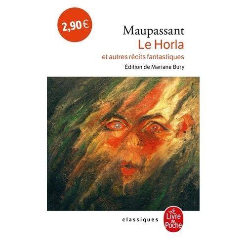 Couverture de Le horla et autres récits fantastiques