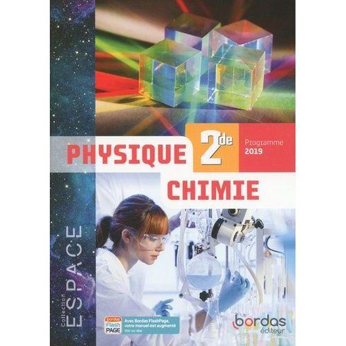 Livre Seconde Physique Chimie Bordas Pas Cher Ou D Occasion