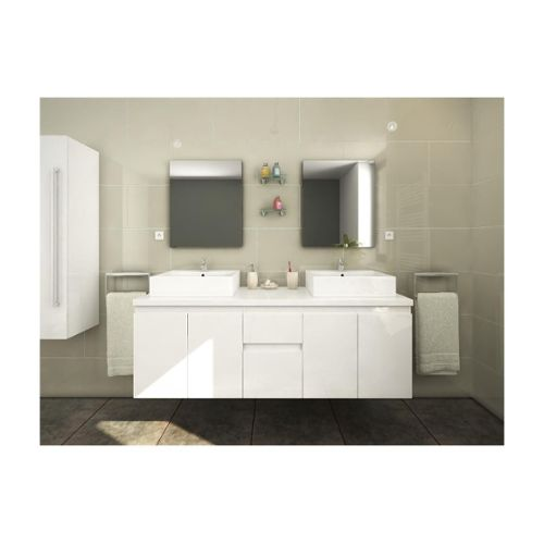 meuble salle bain double vasques pas cher ou d\'occasion sur ...