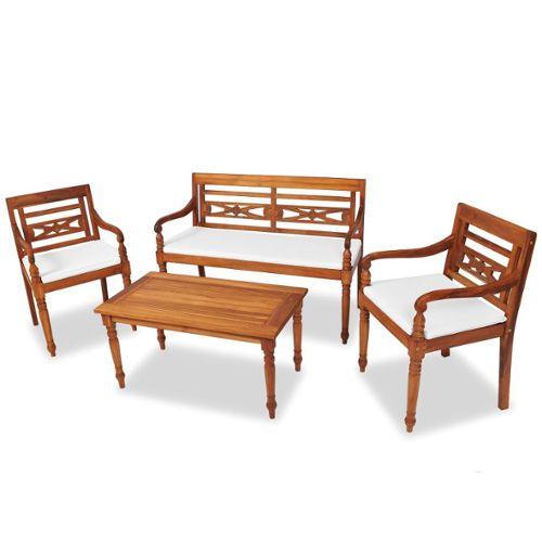 mobilier de jardin en teck pas cher ou d\'occasion sur Rakuten