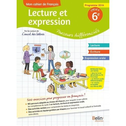 Mon Cahier De Francais 6eme Pas Cher Ou D Occasion Sur Rakuten