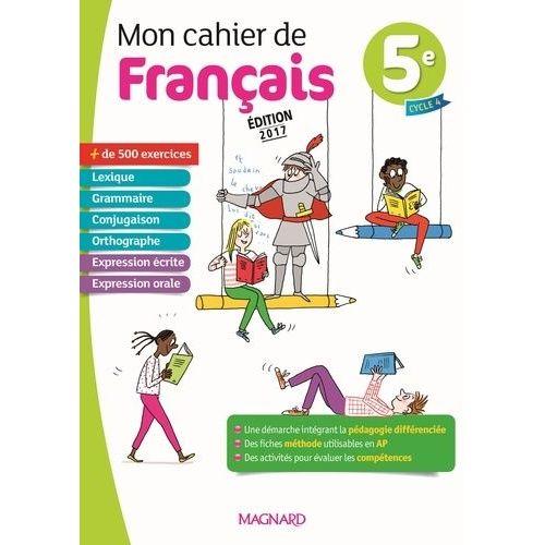 Mon Cahier De Francais Magnard Pas Cher Ou D Occasion Sur