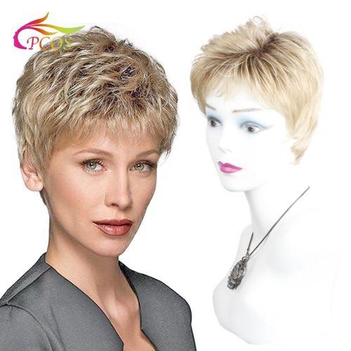 perruque blonde naturelle pas cher ou d'occasion