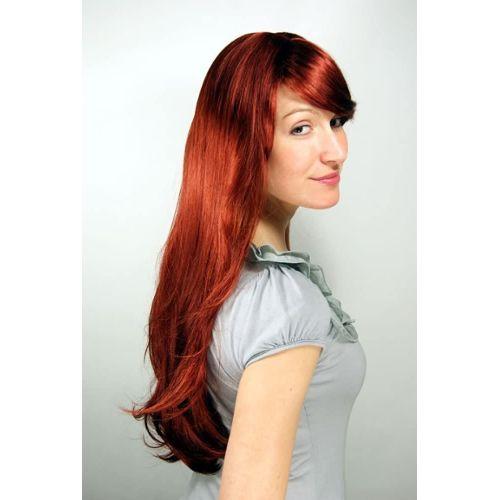 perruque rousse longue pas cher ou d'occasion