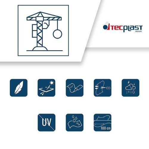 Transparente Bâche de protection agricole 170 g//m² petite serre de 4 x 6 m