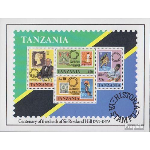 Timbres pour les collectionneurs compl/ète.Edition. 1985 Entwicklungsgemeinschaft tanzanie 254-257
