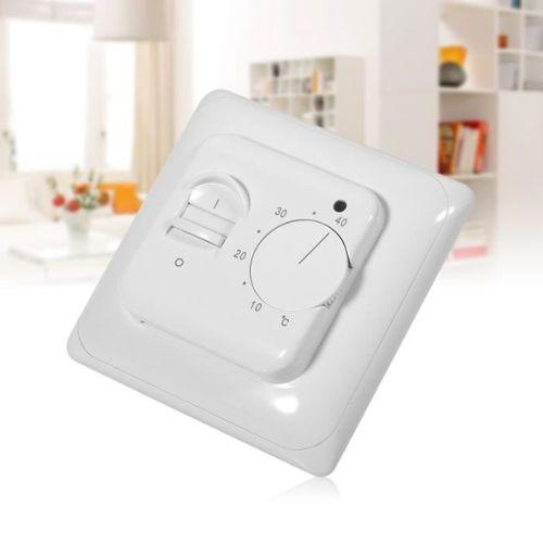 Homyl AC230V Thermostat /Électrique Manuel Avec Capteur De Plancher