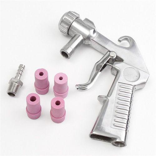 vidaXL Kit Pistolet Sablage 3 Bouteilles de Sable /& 4 pcs Gicleurs Sableuse