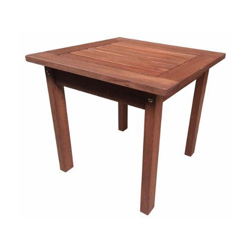 Table + Chaises + Bain De Soeil En Bois Exotiques