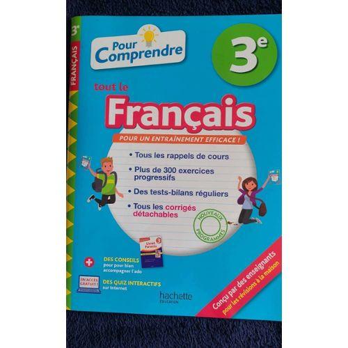 Scolaire Livre Francais 3eme Pas Cher Ou D Occasion Sur Rakuten