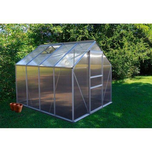 Serre De Jardin En Aluminium Et Polycarbonate Pas Cher Ou D