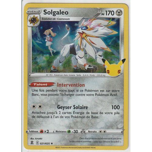 Solgaleo Carte Pokemon Pas Cher Ou Doccasion Sur Rakuten