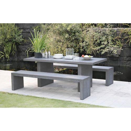 table de jardin avec banc pas cher ou d\'occasion sur Rakuten