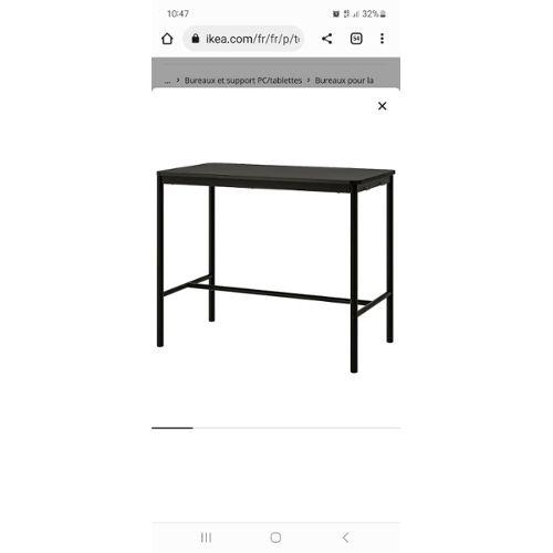 Table Haute Ikea Pas Cher Ou D Occasion Sur Rakuten