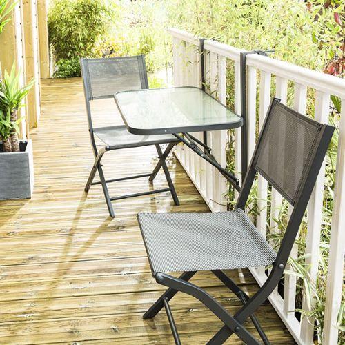 table jardin metal pas cher ou d\'occasion sur Rakuten