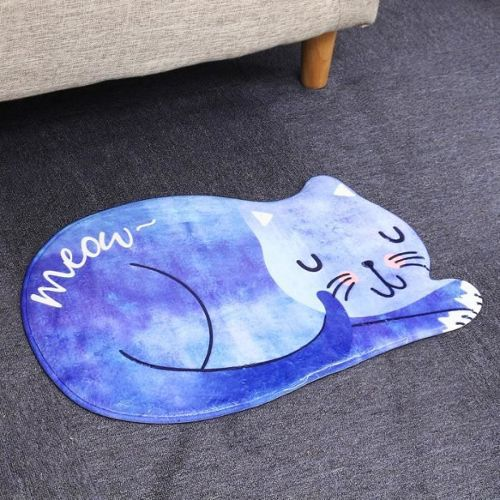 tapis salon bleu pas cher ou d\'occasion sur Rakuten