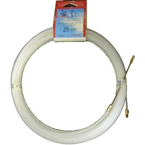 Tire fil nylon 25m diam/ètre fil tire cable fils /électriques Glisse-fils