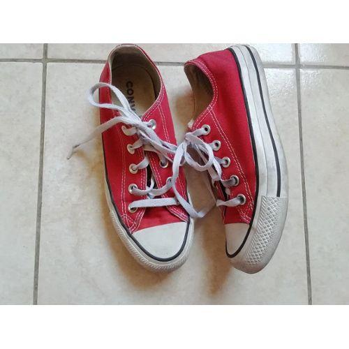 Baskets Converse Rouge pour Homme Achat, Vente Neuf & d